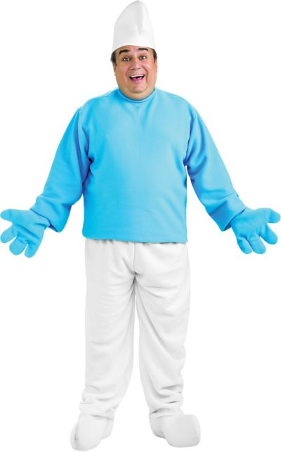 Adult Smurf Costume Plus Size - The Smurfs