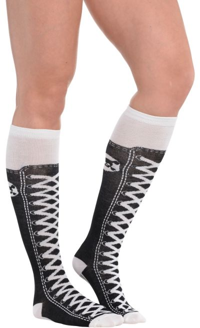 Hi-Top Knee Socks