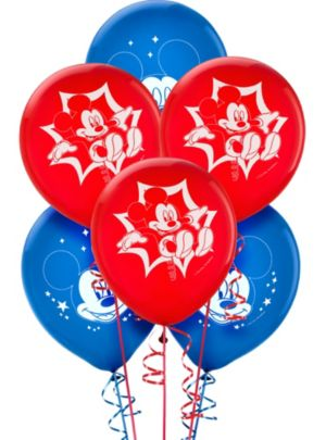 Mickey Mouse Balloons 6ct