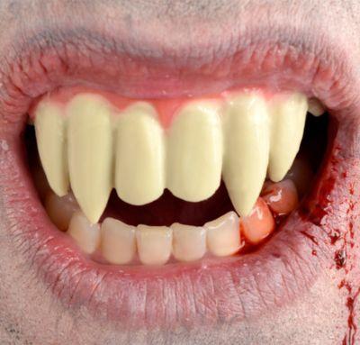 Long Upper Vampire Fangs