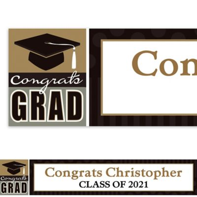 Class Pride Custom Graduation Banner