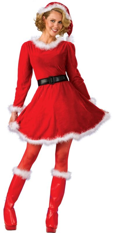 Adult Sexy Mrs. Santa Costume