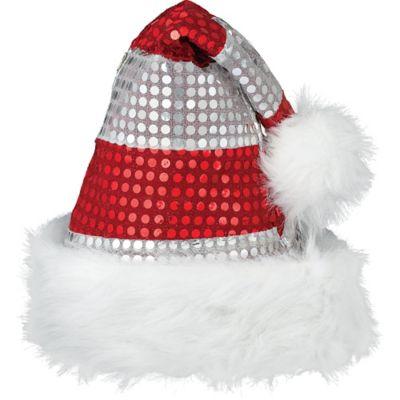 Sparkle Santa Hat