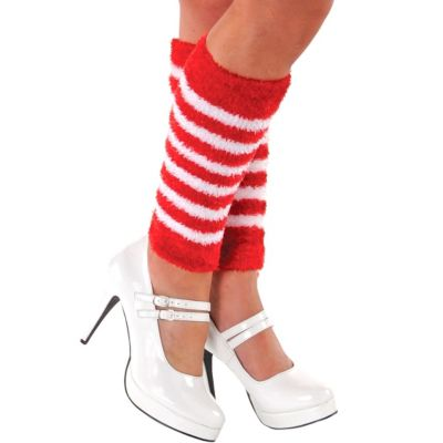 Candy Stripe Leg Warmers