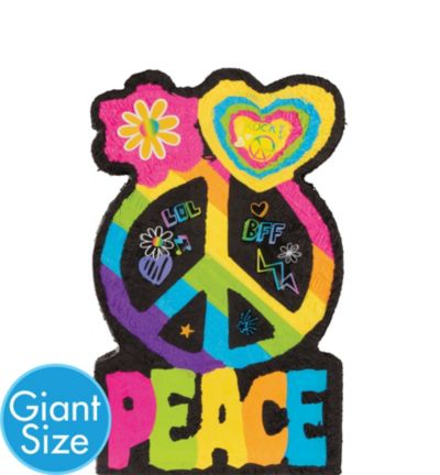 Giant Peace Sign Pinata
