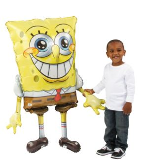 Giant Gliding SpongeBob Balloon 46in