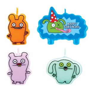 Uglydoll Birthday Candles 4ct