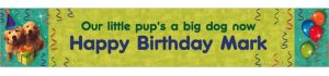 Custom Dogs Banner 6ft
