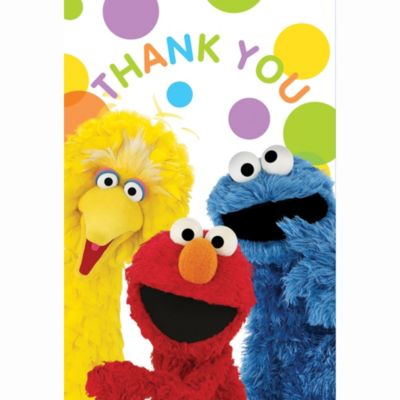 Sesame Street Thank You Notes 8ct