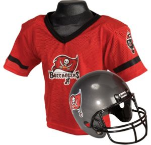 Child Tampa Bay Buccaneers Helmet & Jersey Set