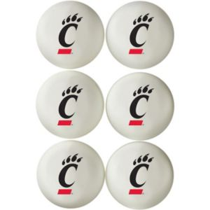 Cincinnati Bearcats Pong Balls 6ct
