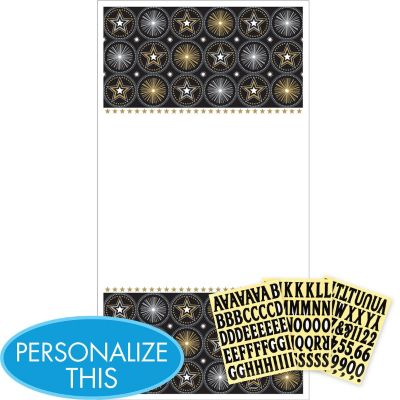 Glitter Starz Personalize It Door Decorating Kit 4pc