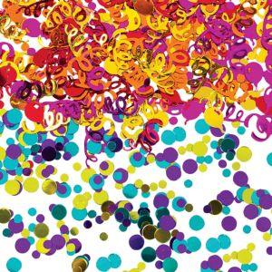 Happy Birthday Confetti - Rainbow Dot