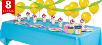 Cupcake  Basic Party Kit for 8 Guests