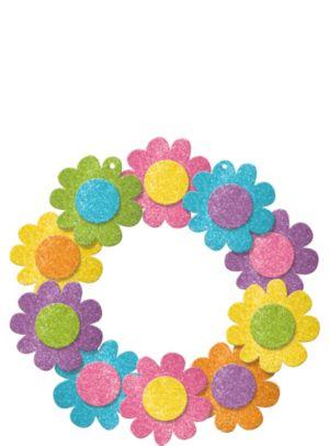 Glitter Spring Wreath