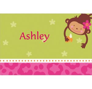 Custom Monkey Love Thank You Notes
