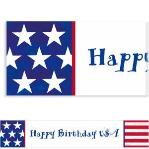 Custom Americana Banner 6ft