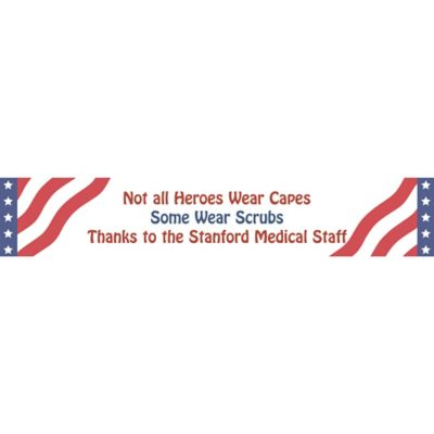 All American Welcome Home Custom Banner