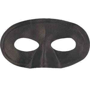Black Fabric Eye Mask