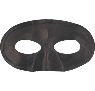 Black Fabric Eye Mask