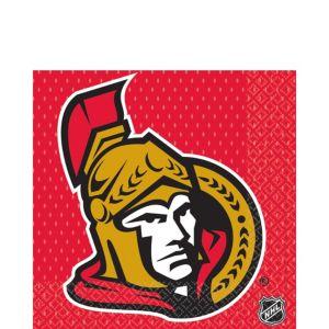 Ottawa Senators Lunch Napkins 16ct