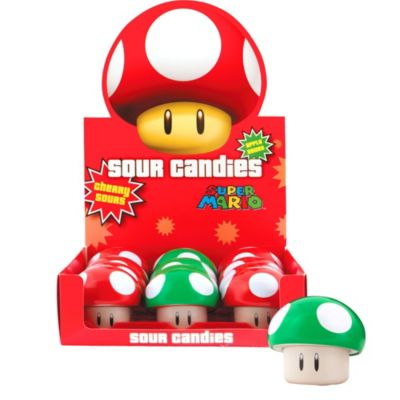 Super Mario Mushroom Candy Containers 12ct
