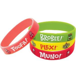 Yo Gabba Gabba! Wristbands 4ct