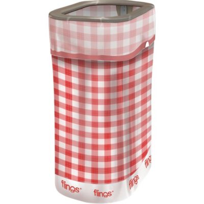 Gingham Flings® Pop Up Trash Bin