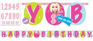 Barbie Banner 10 1/2ft