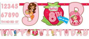 Strawberry Shortcake Letter Banner 10ft