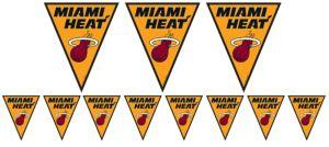 Miami Heat Pennant Banner