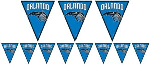 Orlando Magic Pennant Banner