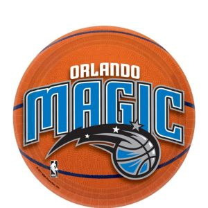 Orlando Magic Dessert Plates 8ct