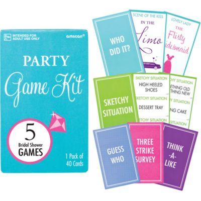 Bridal Shower Game Kit 5ct
