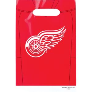 Detroit Red Wings Favor Bags 8ct