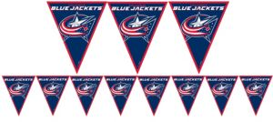 Columbus Blue Jackets Pennant Banner