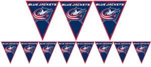 Columbus Blue Jackets Pennant Banner
