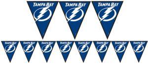 Tampa Bay Lightning Pennant Banner