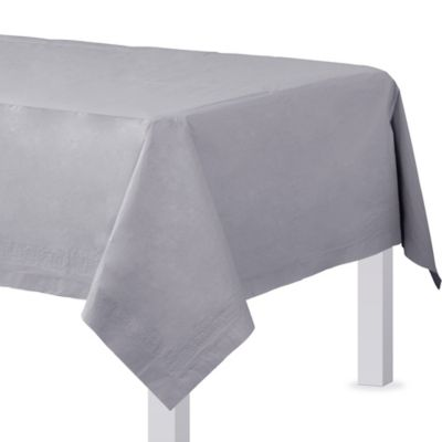 Silver Paper Table Cover