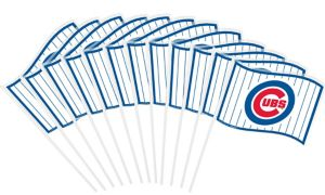 Chicago Cubs Mini Flags 12ct