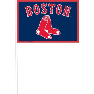 Boston Red Sox Mini Flags 12ct