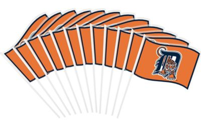 Detroit Tigers Mini Flags 12ct