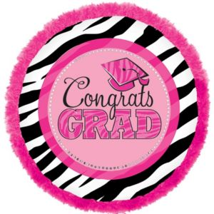 Graduation Balloon - Boa Zebra