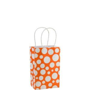 Orange Dot Mini Gift Bag