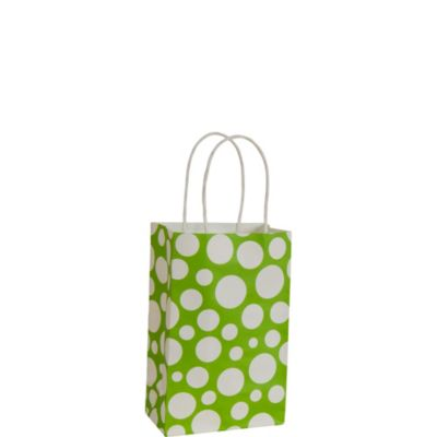 Kiwi Dot Mini Gift Bag