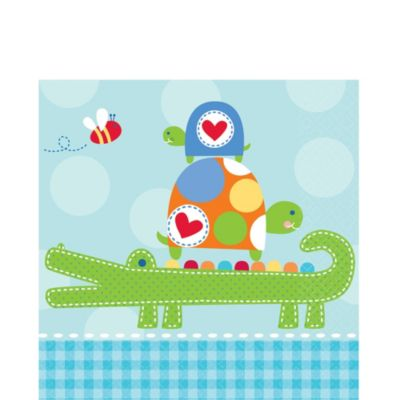 Ahoy Baby Boy Baby Shower Lunch Napkins 16ct