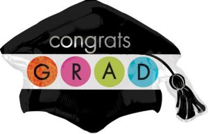 Graduation Balloon - Giant Colorful Commencement