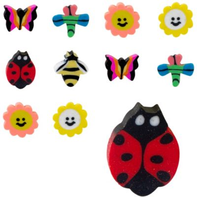 Colorful Mini Erasers 48ct