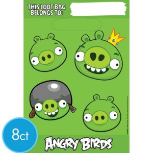 Angry Birds Favor Bags 8ct