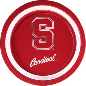 Stanford Cardinal Lunch Plates 10ct